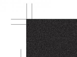 ブラックメタリックカードのテンプレート(アップ)