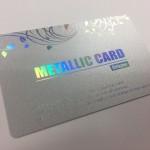 メタリッククリスパーカード(ホログラム)