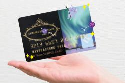 抗菌カード(PVC)